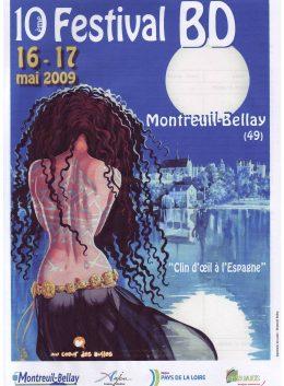 affiche festival bd montreuil-bellay 2009