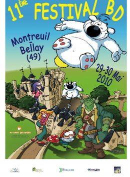 affiche festival bd montreuil-bellay 2010