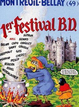 affiche montreuil-bellay festival bd 2000