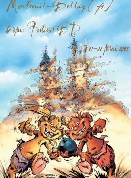 affiche festival bd montreuil-bellay 2005